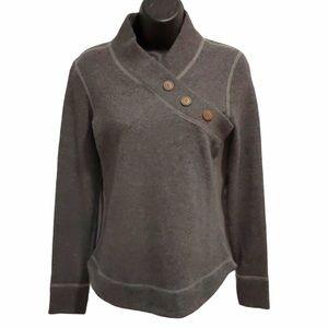 Prana Mena grey sweater sz XS
